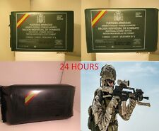 NEW MRE LOT 24 HOURS SPANISH COMBAT RATIONS. MENUS A1, B2 AND BREAKFAST. ca
