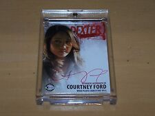 Dexter Season 4 Trading Card - Courtney Ford RED Autograph - D4 ACF