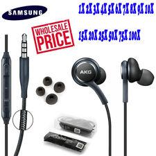 FOR OEM Samsung S9 S8 S10 + Note 8 AKG Earphones Headphones Headset Ear Buds Lot