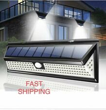 New listing 118 Led Solar Lamp Outdoor Garden Yard Waterproof Pir Motion Sensor Wall Light