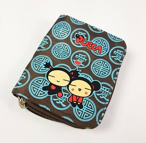 Wallet Document Holder with Zip Pucca Funny Love Blue By Premiere