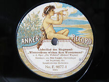 78rpm OTTO FANGER sings WAGNER WALKURE - RARE ACOUSTIC ANKER RECORD