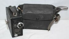 Coronet 9.5mm Cine Model B - c1936 movie camera with film cassette - working/vgc