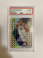 Nicolas Claxton PSA 10 2019 Panini Mosaic Mosaic Brooklyn Nets Rookie RC #236