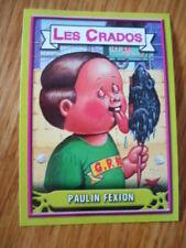 Image * Les CRADOS 3 N°50 * 2004 album card Sticker FRANCE Garbage Pail Kid