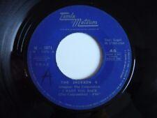 "The Jackson 5 Five I Want You Back Spanish 1969 Tamla Motown 7"" Vinyl Single"