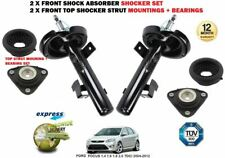 FOR FORD FOCUS 2004-2012 NEW 2X FRONT SHOCK ABSORBERS + TOP MOUNTING + BEARINGS