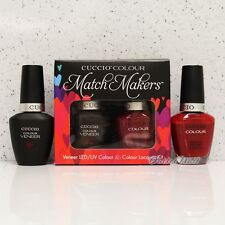 CUCCIO Veneer Match Makers - RED EYE TO SHANGHAI 6025 Gel & Nail Lacquer Duo Kit