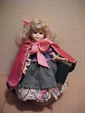 Robin Woods Little Red Riding Hood Vinyl Doll Classic Childhood Companions Mint