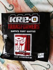 Hasbro KRE-O Transformers Botcon 2015 Exclusive Earth's Most Wanted Figure Pack