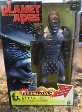 """Planet Of The Apes Action Figure Attar Electronic 12"""" Speech & Sound"""