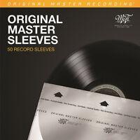 12'' Inner Sleeves - Mobile Fidelity Original (50) [New Bag/Sleeve]