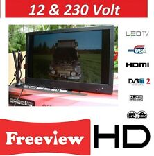 "10"" 12V HD Digital TV WITH FREEVIEW HD V. BOAT, CARAVAN ,HGV TRUCK DivX, MPEG-4"