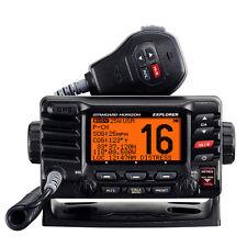 Standard Horizon Marine Boat Explorer GPS Fixed Mount VHF Black 25 Watt GX1700B