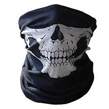 1/2/5PC Halloween Skull Mask Half Face Sport Magic Scarf Headband Headwear Hot