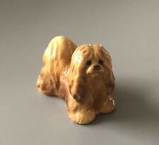 Vintage Miniature Mop Puli Sheep Komondor Dog Figurine Collectible 2� *Cute*