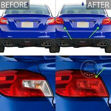 Fits Subaru WRX/STI 15-20 Tail Light Red Out Precut Tint Kit Film Cover Overlay