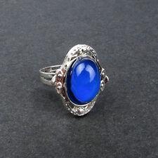 Awesome Nostalgic Vintage Mood Ring!!  Size 7 but Adjustable!!  Silver-Adorable!