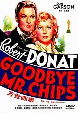 """NEW DVD """" Goodbye Mr.Chips """" Robert Donat, Greer Garson"""