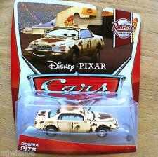 Disney PIXAR Cars DONNA PITS 2013 RUST-EZE RACING THEME diecast 7/8 rusty PITTS