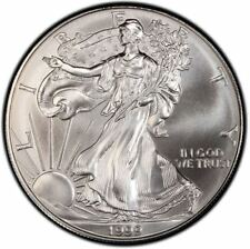 1999 American Silver Eagle 1 oz Silver Coin | Direct From Us Mint Tube