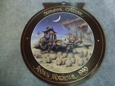 RODNEY MATTHEWS - 1990 Kalender -  FANTASY musik Motive Magnum Band SF Rock