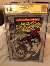 Amazing Spider-Man # 361 9.8 Cover Artwork Also Autograph By Mark Bagley