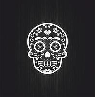 Sticker decal motorcycle car tuning jdm skull sugar laptop macbook biker r3