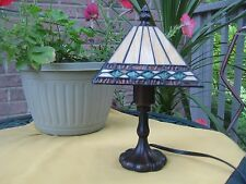 ACCENT TABLE LAMP NIGHT LIGHT TIFFANY STYLE