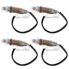 4Pcs Fit for Ford Focus Lincoln Mazda O2 Oxygen Sensor + Plug 11171843 15717