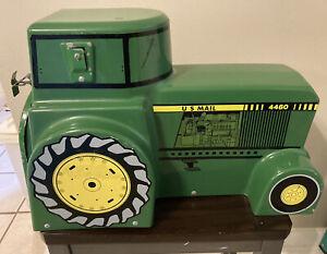 Green John Deere Style Mailbox