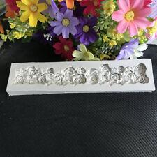 Flower Rose Silicone Cake Mold Fondant Cake Decorating Tools DIY-NEW