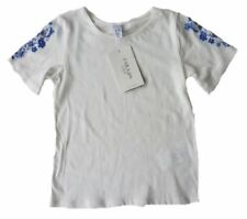 Scoop Neck Short Sleeve Floral T-Shirts & Tops (2-16 Years) for Girls
