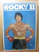 Rocky II the movie vintage  Poster 1979 Stallone Inv#3404