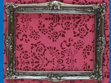 Antique Finish Solid Brass Frame, Medium, Dolls House Miniature, Picture Frame