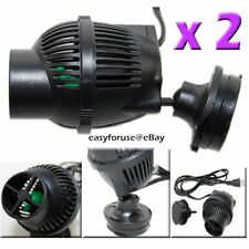 2 1300gph Wave Maker Fish Pump Marine and Reef Aquarium Magnetic Mounting