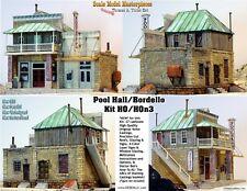 BORDELLO & POOL HALL Kit Scale Model Masterpieces/Tom YORKE HOn3 Fine Craftsman
