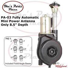 "RetroSound PA-03 Universal Fully Automatic Mini Power Antenna 8-1/2"" Mount Depth"