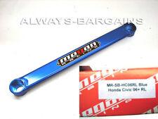 Rear Lower Tie Strut Bar Honda Civic 06 07 08 09 10 11 MEGAN RACING BLUE