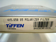 "New Tiffen 4x5.65"" 85 Linear Polarizing Filter Polarizer Filters"