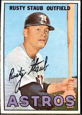 1967 Topps Rusty Staub Houston Astros #73 Baseball Card