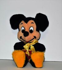 "Vintage Walt Disney Characters Mickey Mouse Plush California Stuffed Toys 16"""
