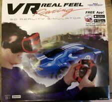 Mobile Phone Virtual Reality Car Racing Gaming System Bluetooth Steering Wheel