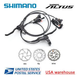 SHIMANO Altus BR-BL-M315 MT200 Hydraulic Disc Brake Set Bicycle MTB F&R OE