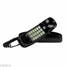 AT&T New Black Corded Home Desk Wall Mount Landline Phone Telephone Handset