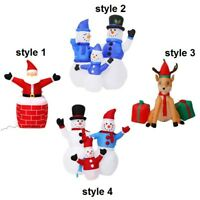 NEW Christmas Inflatable Air Blown LED Yard Garden Party Decoration 4 Style