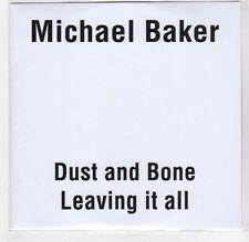 (GF487) Michael Baker, Dust And Bone - 2015 DJ CD