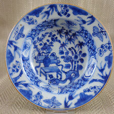 Antique Chinese Porcelain Bowl Qianlong  Hand Painted Blue & white China