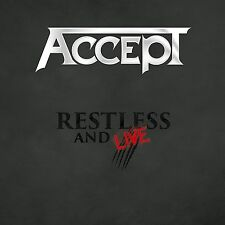 ACCEPT - RESTLESS AND LIVE box set  (CD) Sealed