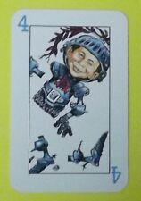 Ersatzkarte Mad Kartenspiel // Karte 4 Blau